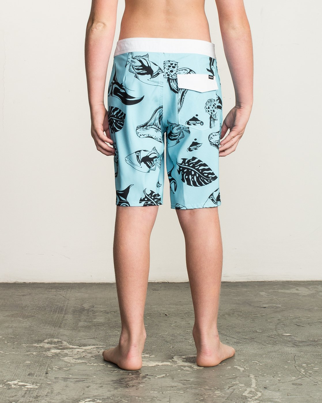 2 Boys VA Printed Trunk Blue B155TRVA RVCA