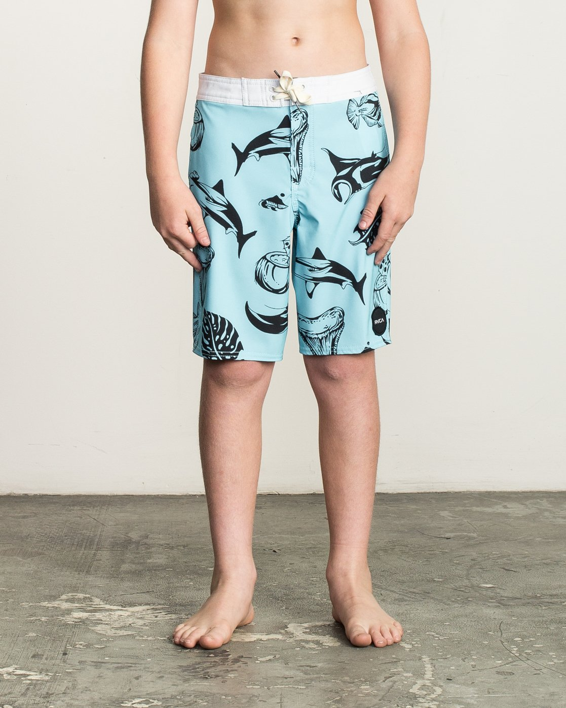 1 Boys VA Printed Trunk Blue B155TRVA RVCA