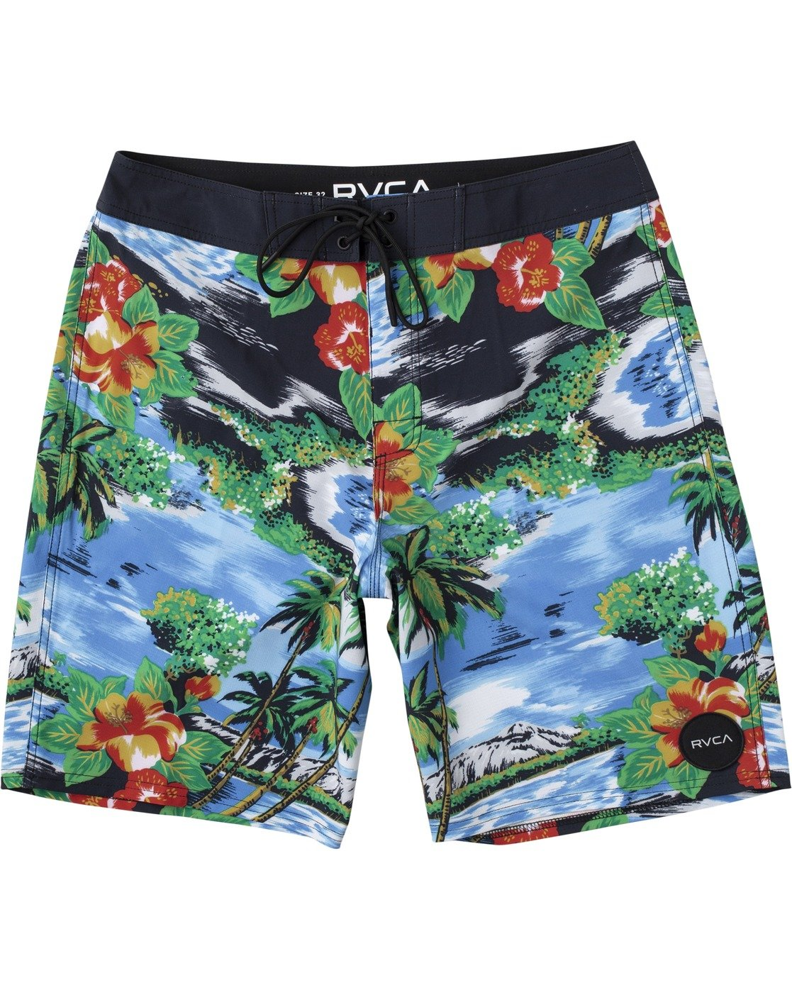 "1 BOYS VA BOARDSHORT 16"" Grey B1561RVA RVCA"