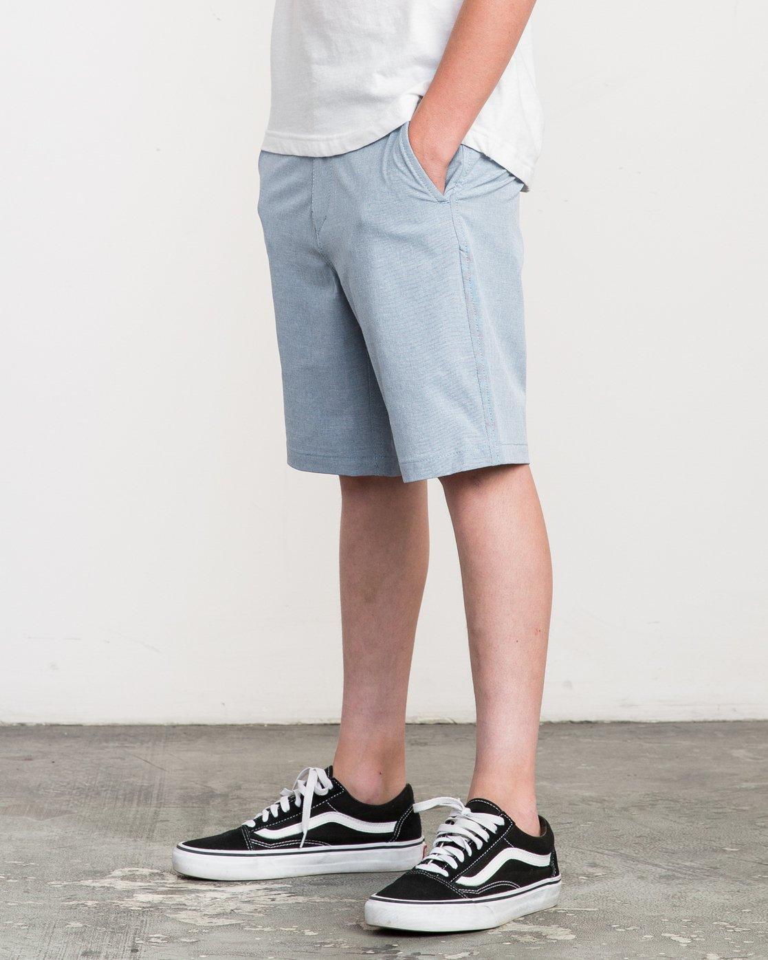 2 Boy's Balance Hybrid Short Blue B201NRBH RVCA