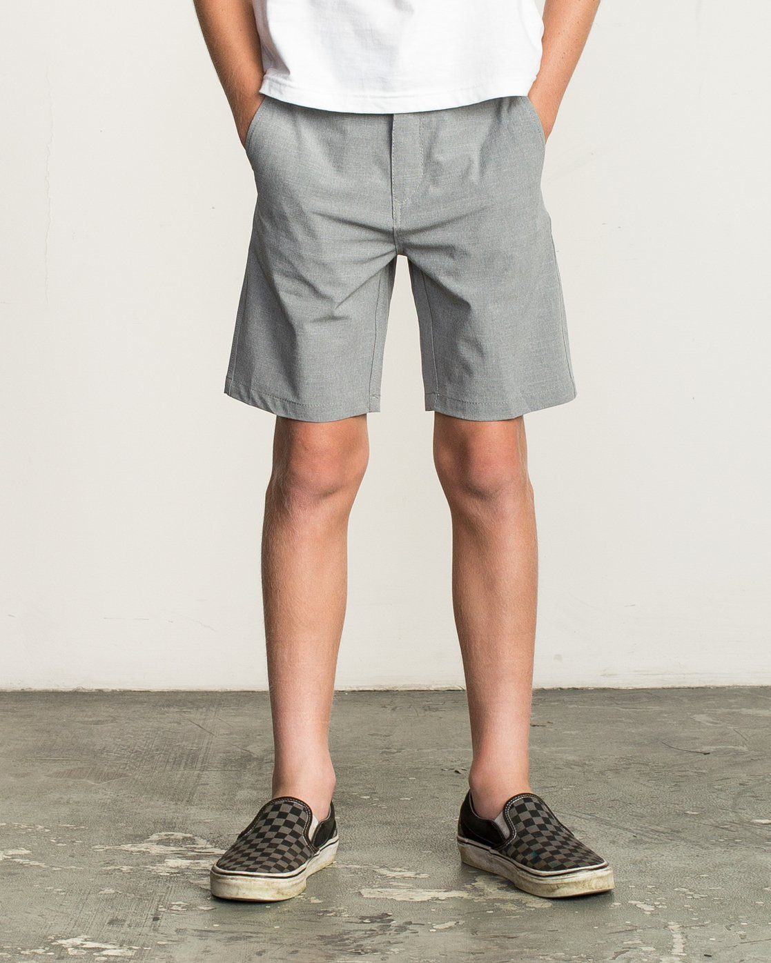 1 Boys Balance Hybrid Short Orange B201NRBH RVCA