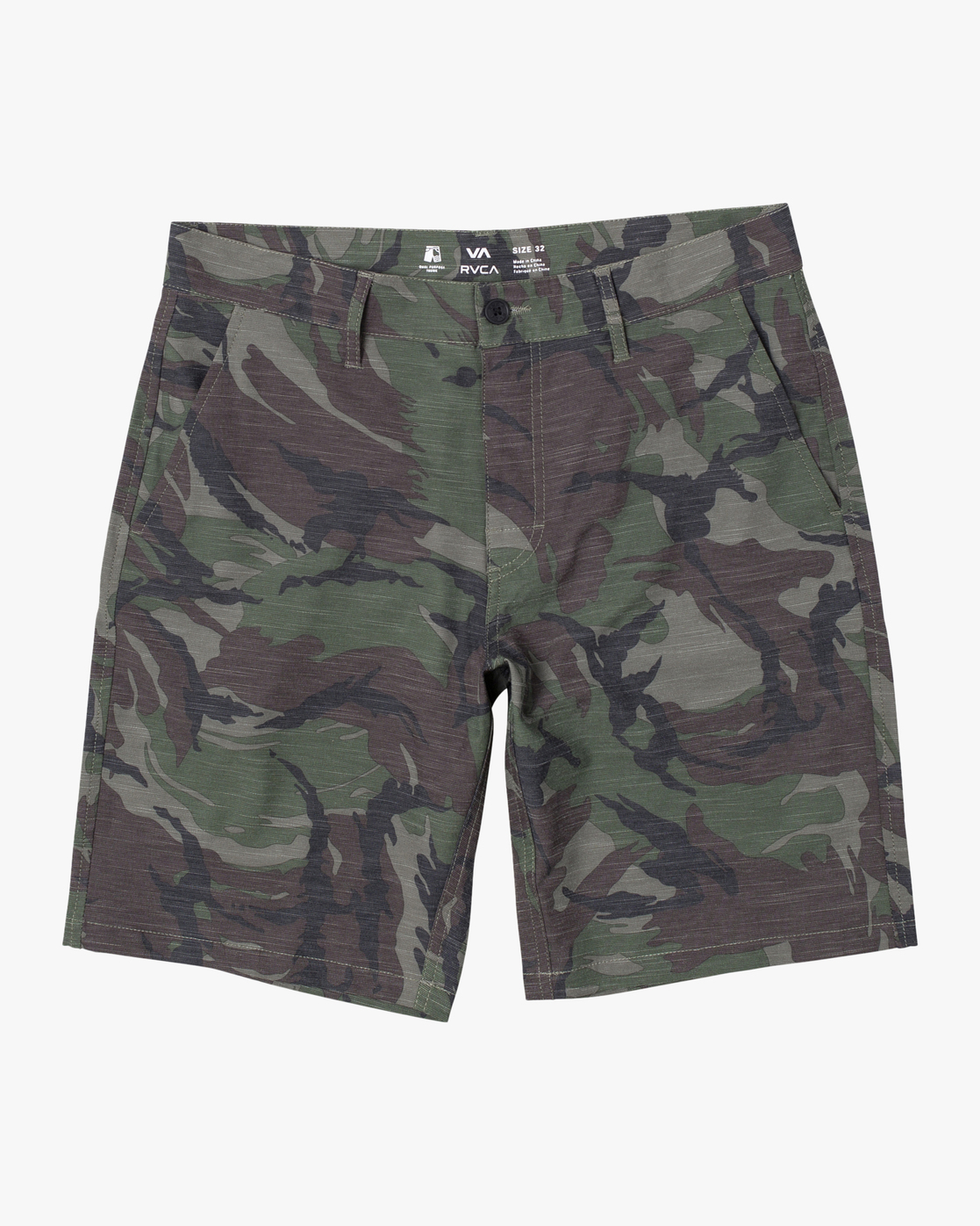 0 BOYS BALANCE HYBRID SHORT Brown B2031RBH RVCA