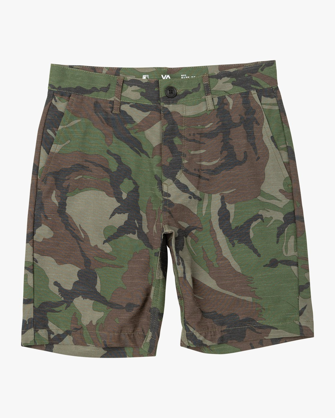 1 BOYS BALANCE HYBRID SHORT Brown B2031RBH RVCA