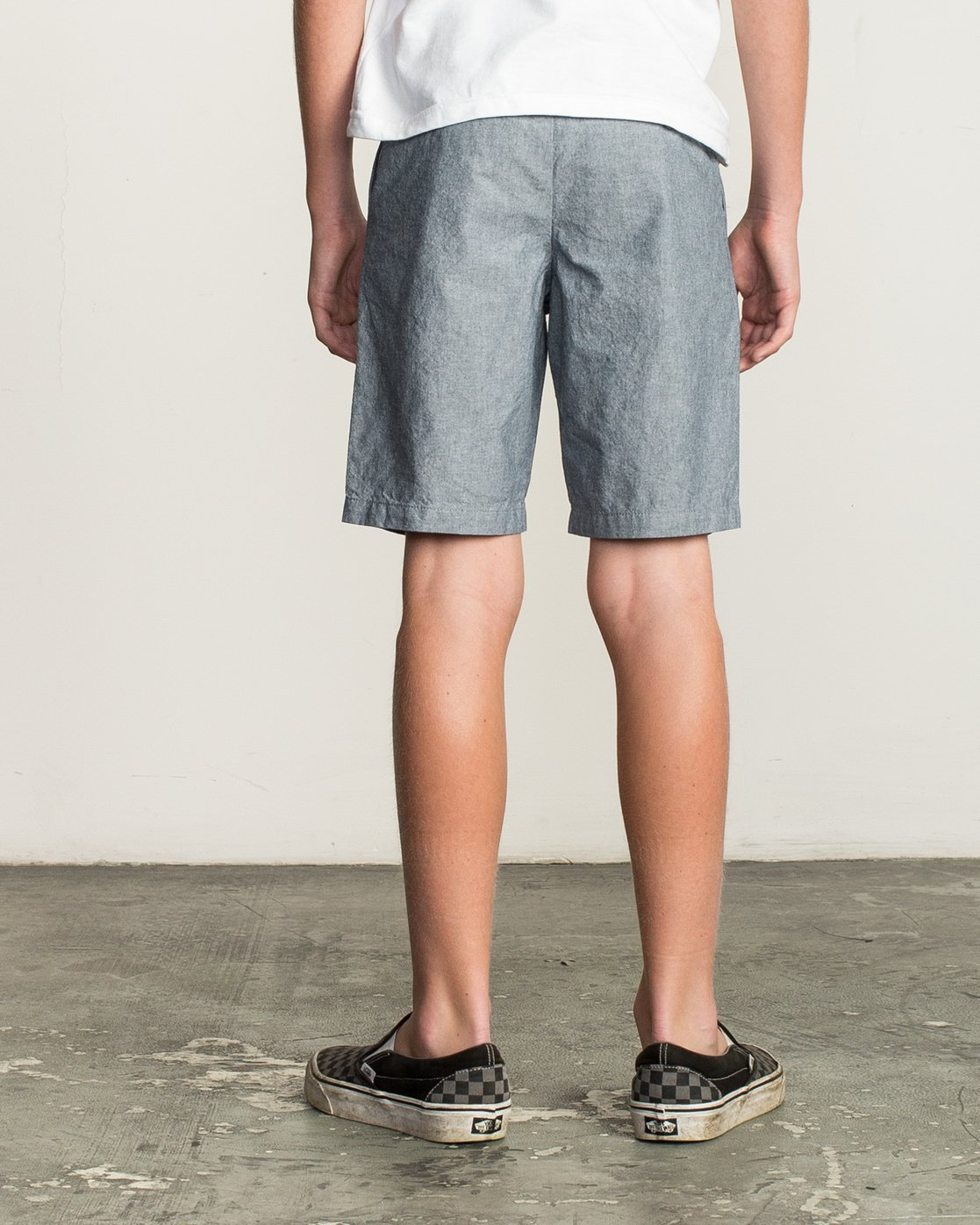 4 Boy's That'll Walk Oxford Short Blue B210TRTW RVCA
