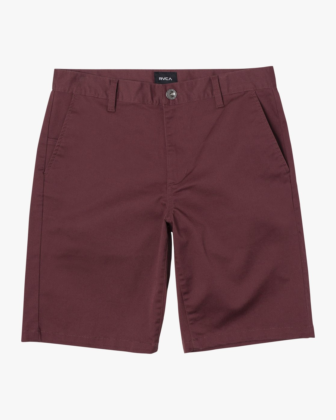 "1 BOYS WEEKDAY STRETCH SHORT 18"" Red B240TRWD RVCA"