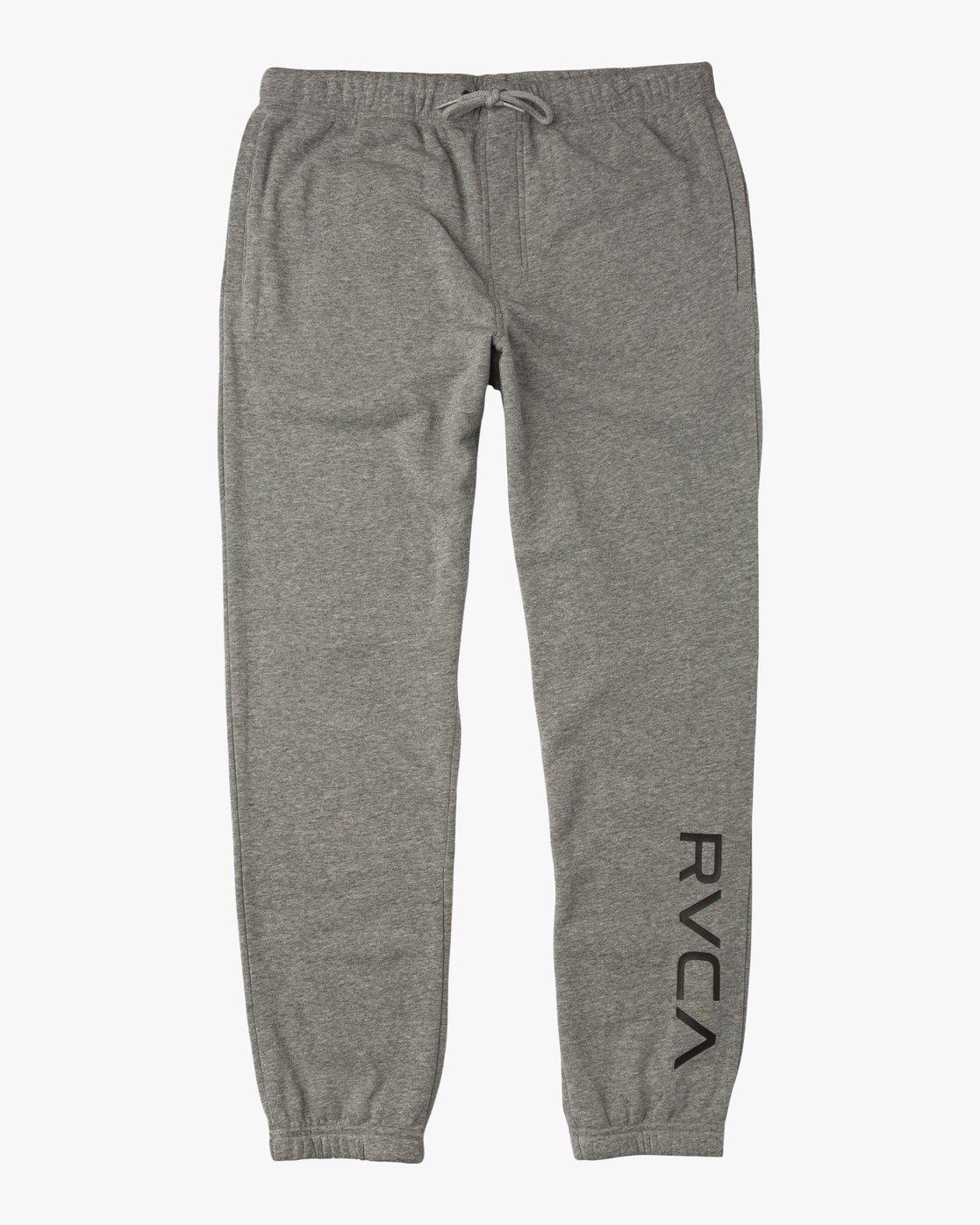 6 Boy's VA Guard Fleece Sweatpant Grey B301QRGU RVCA