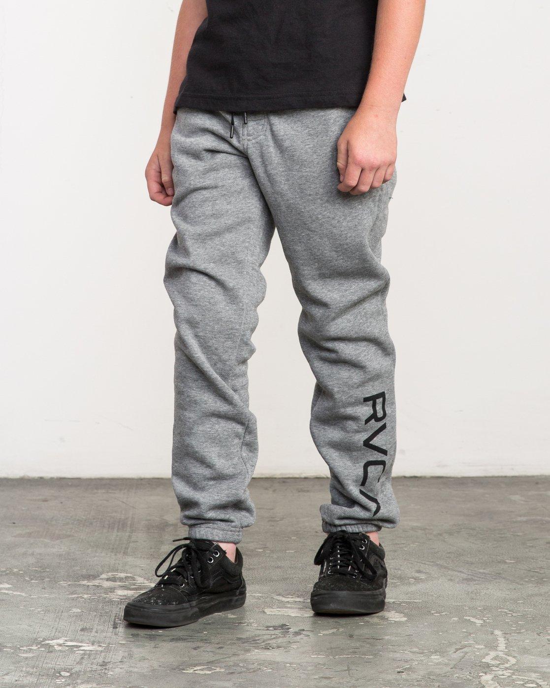 1 Boy's VA Guard Fleece Sweatpant Grey B301QRGU RVCA
