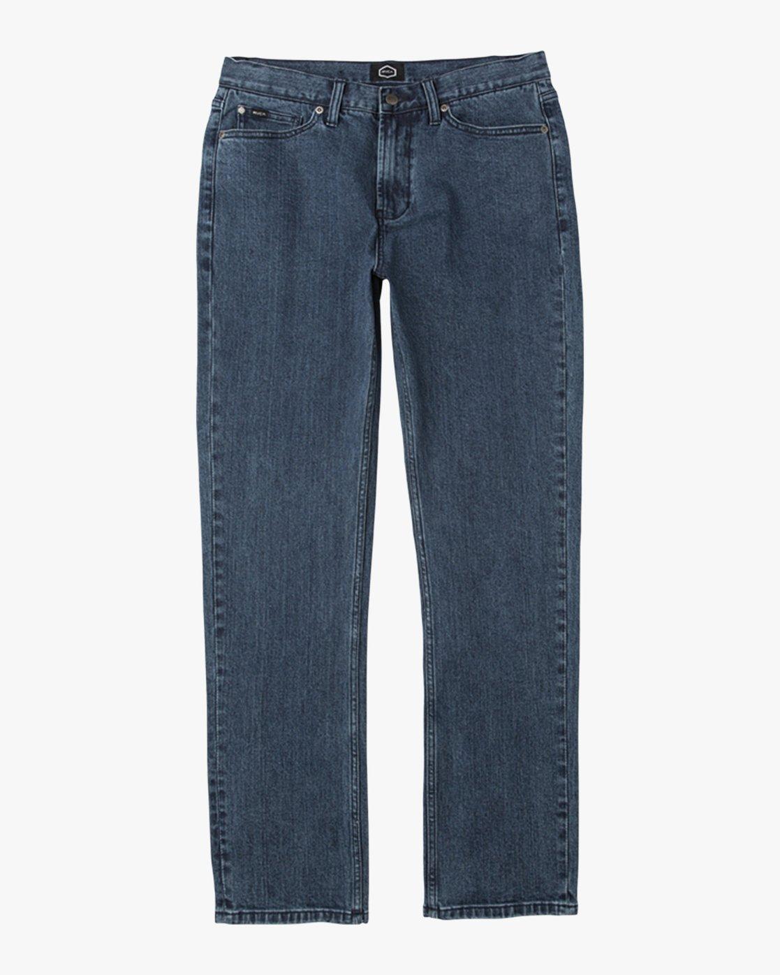 6 Boy's Daggers Denim Jeans Blue B303QRDA RVCA