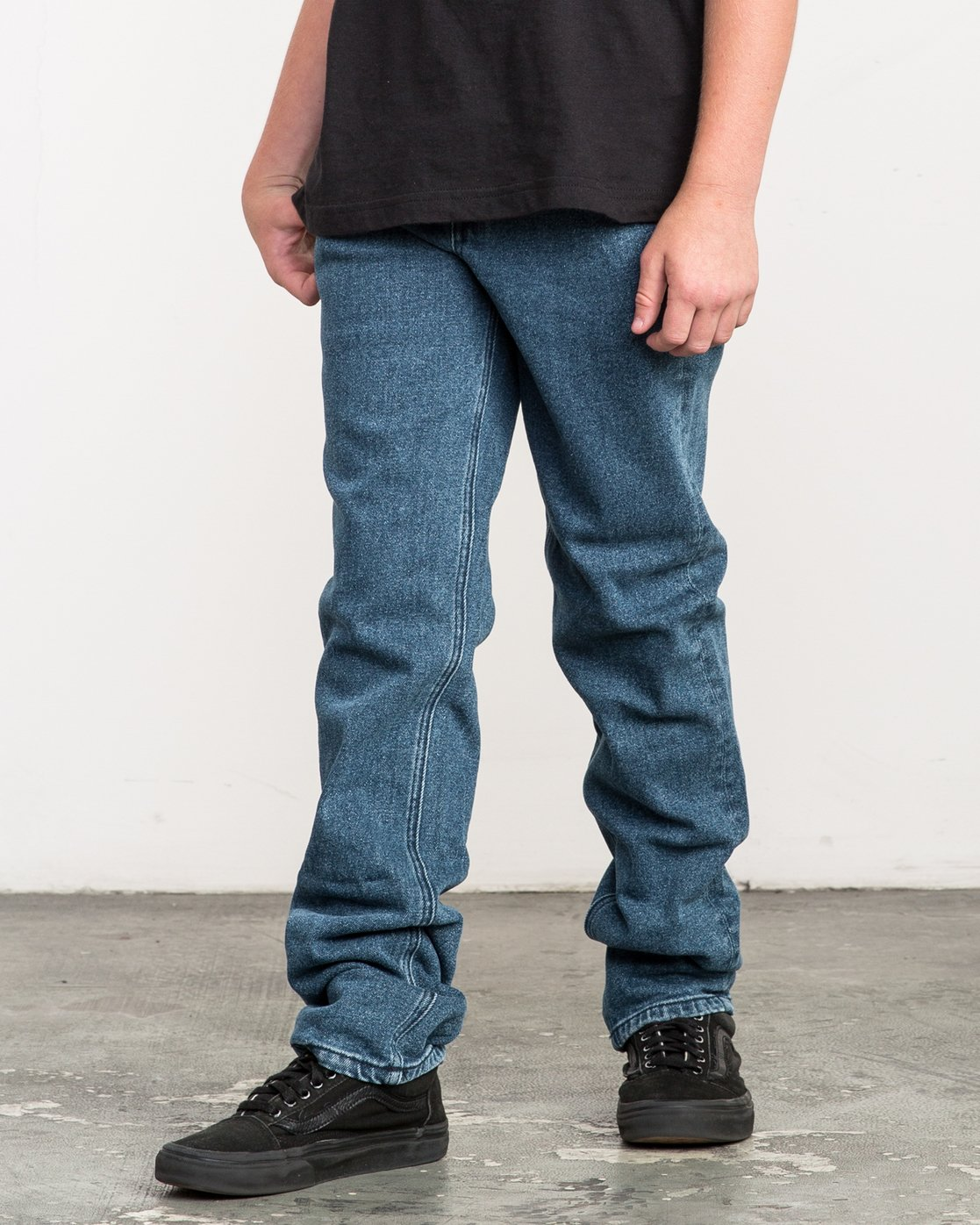 1 Boy's Daggers Denim Jeans Blue B303QRDA RVCA