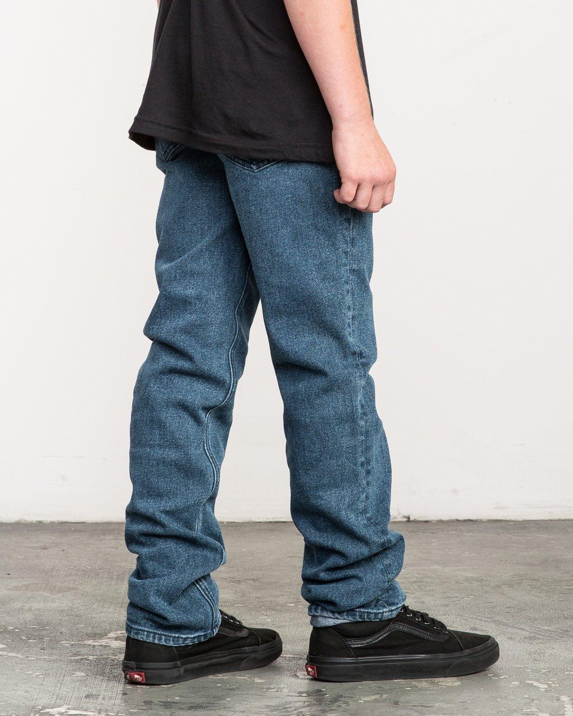 4 Boy's Daggers Denim Jeans  B303QRDA RVCA