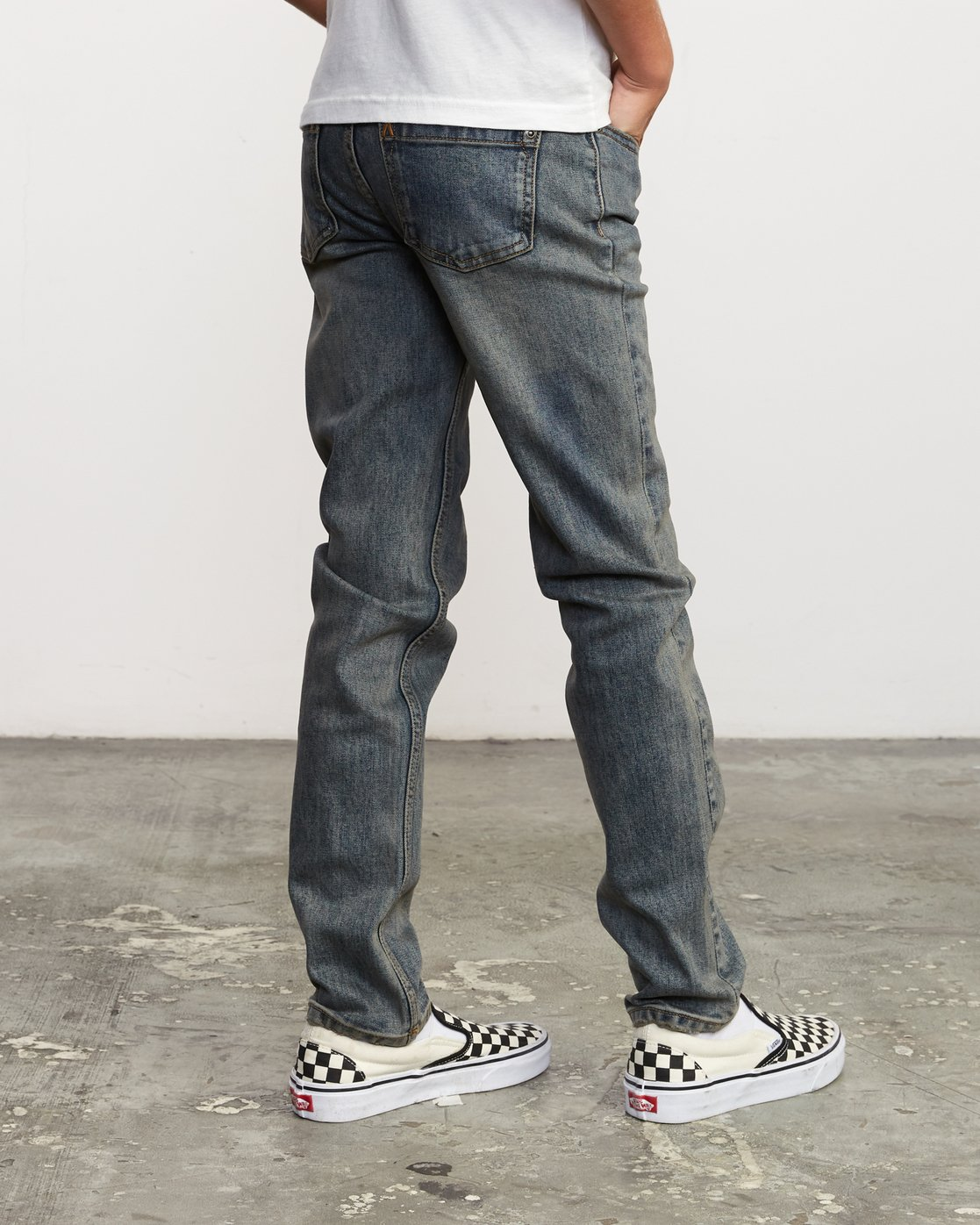 4 Boy's Daggers Denim Blue B303VRDA RVCA