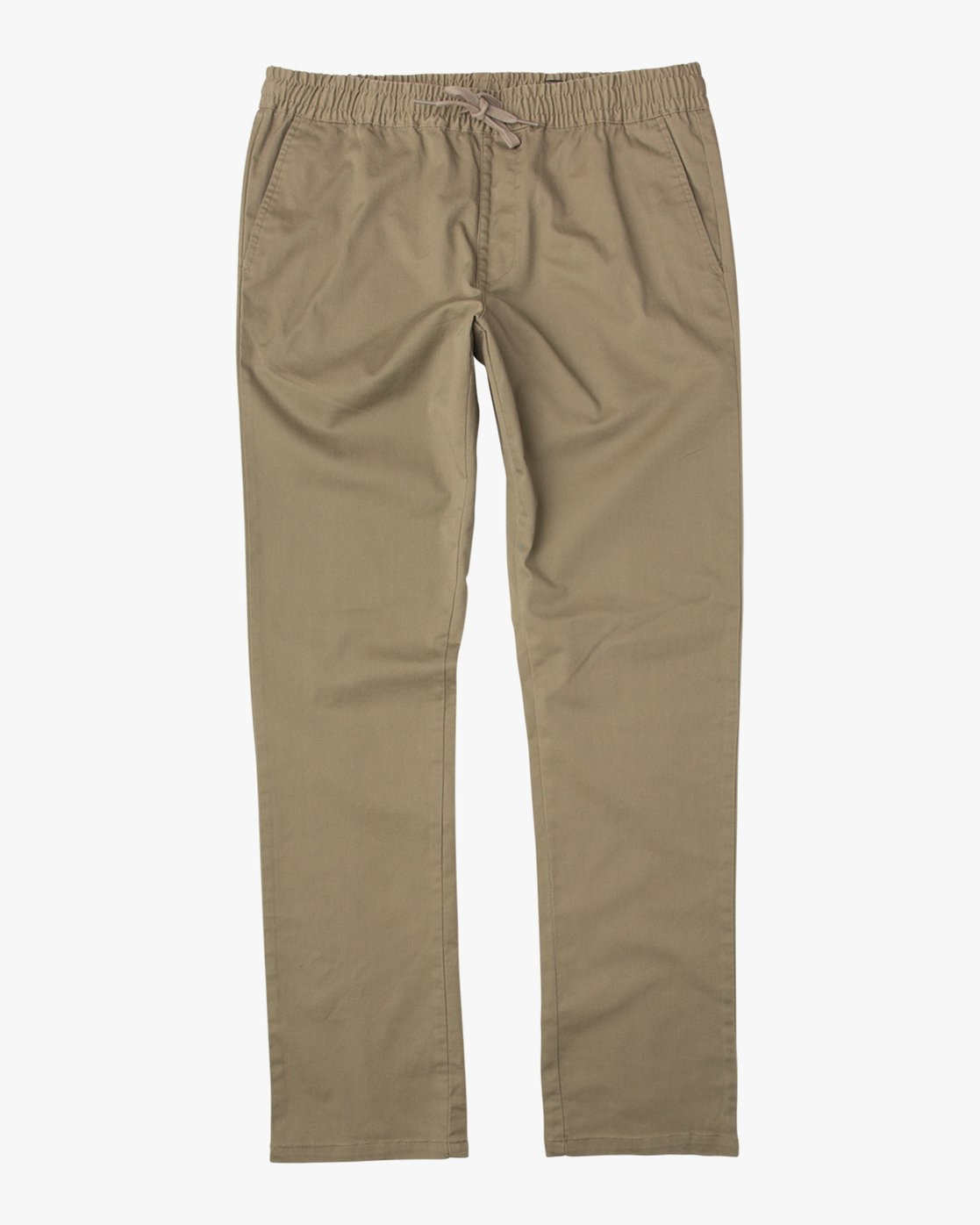 6 Boy's A.T. Dayshift Elastic Pant Beige B310QRDS RVCA