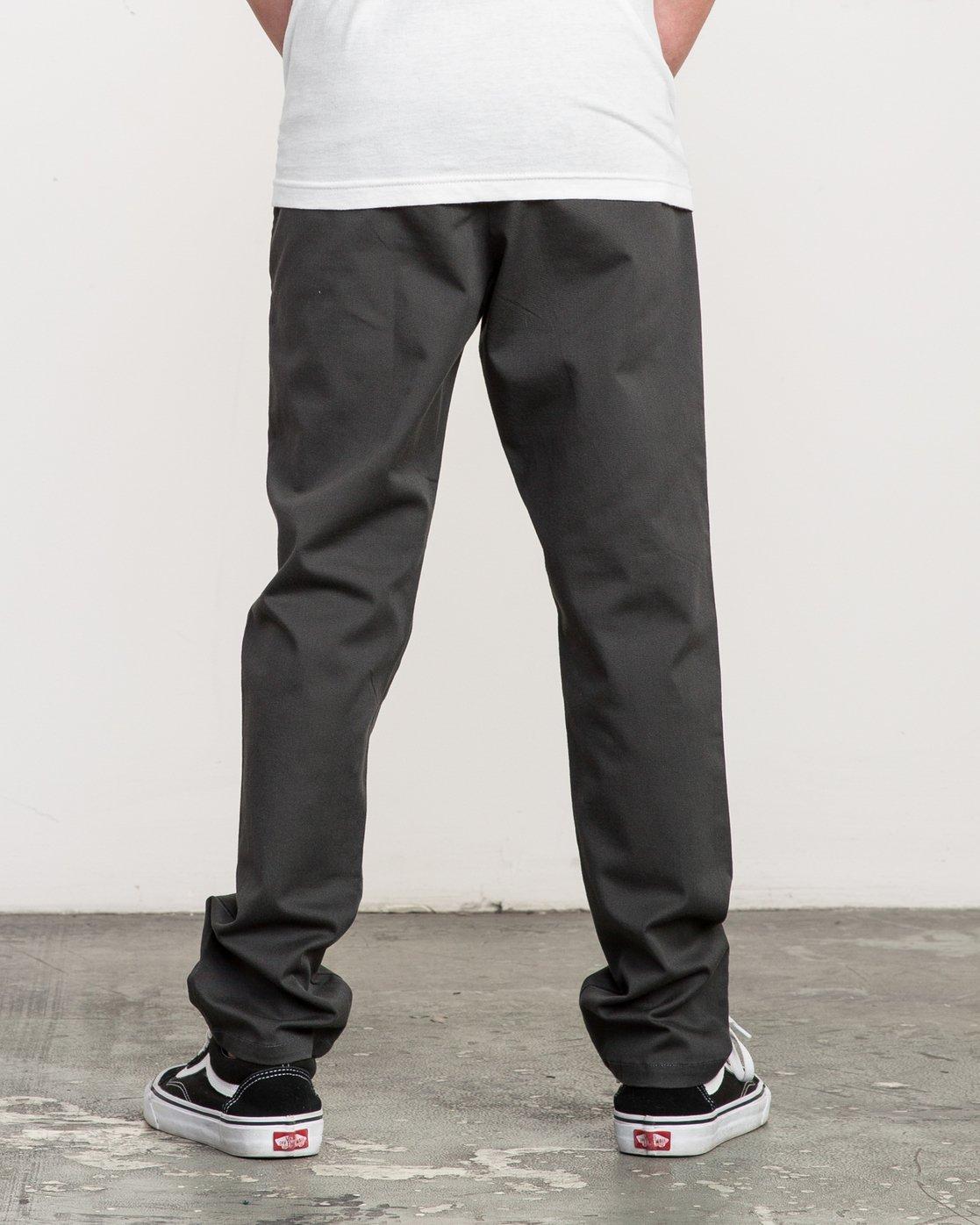 3 Boy's A.T. Dayshift Elastic Pant Black B310QRDS RVCA