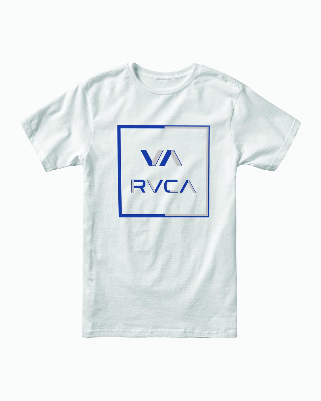 1 Boys CIRCUIT SHORT SLEEVE T-SHIRT White B4012RCI RVCA