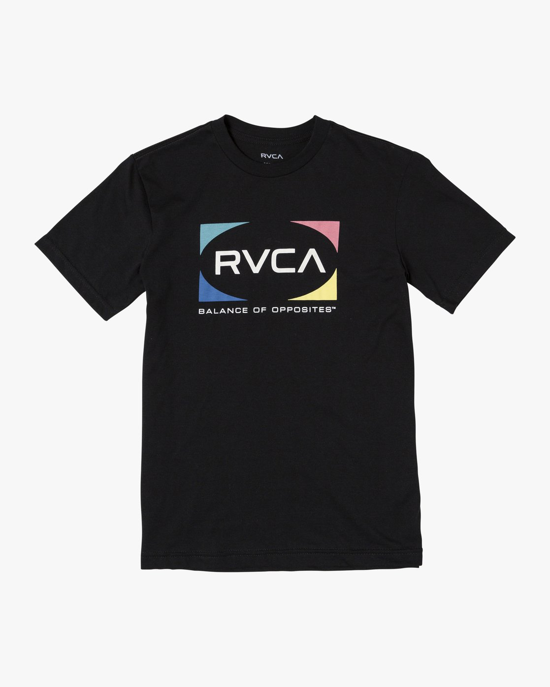 1 Boys QUAD SHORT SLEEVE T-SHIRT  B4012RQU RVCA