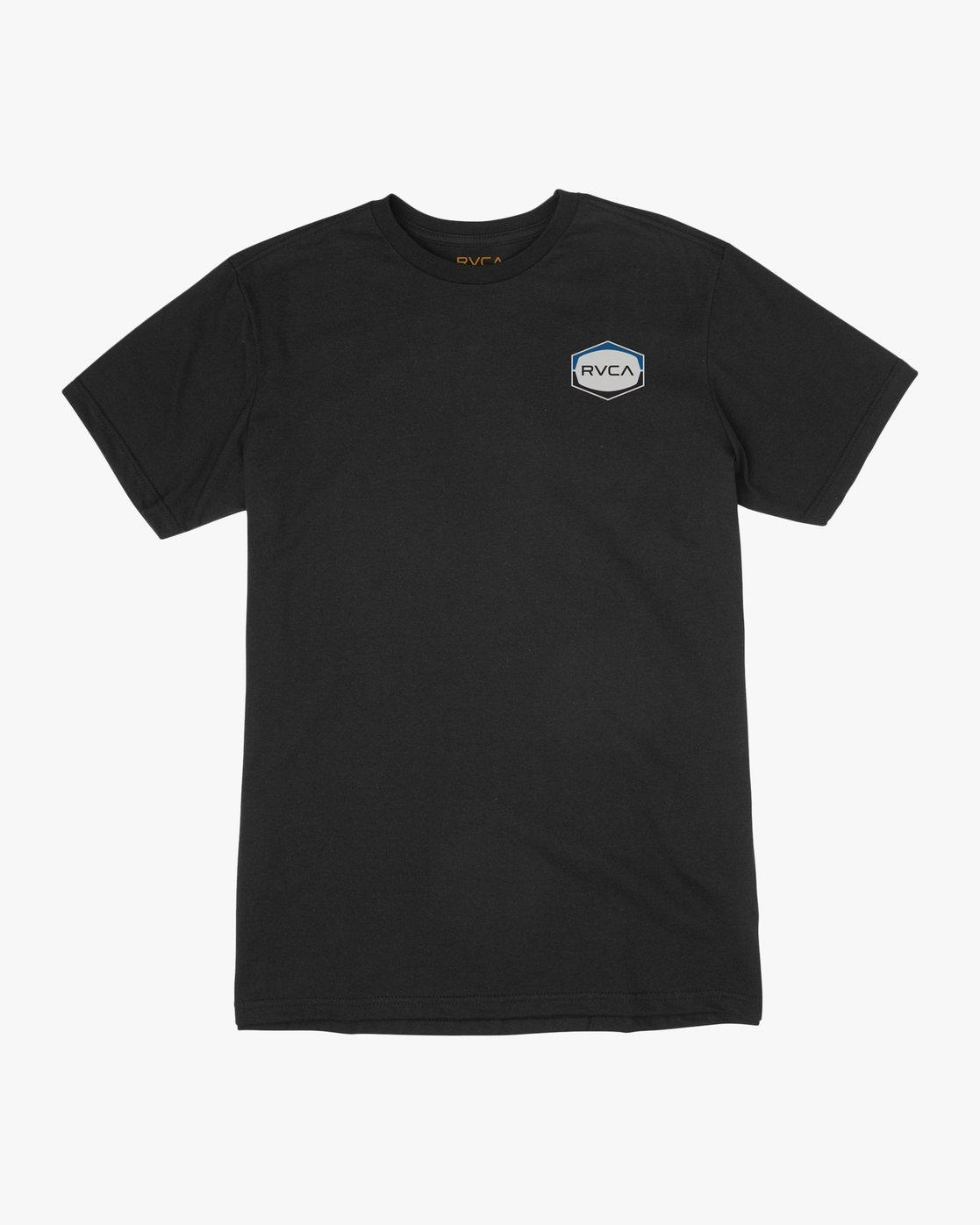 1 Boy's Unleaded T-Shirt  B401SRUN RVCA
