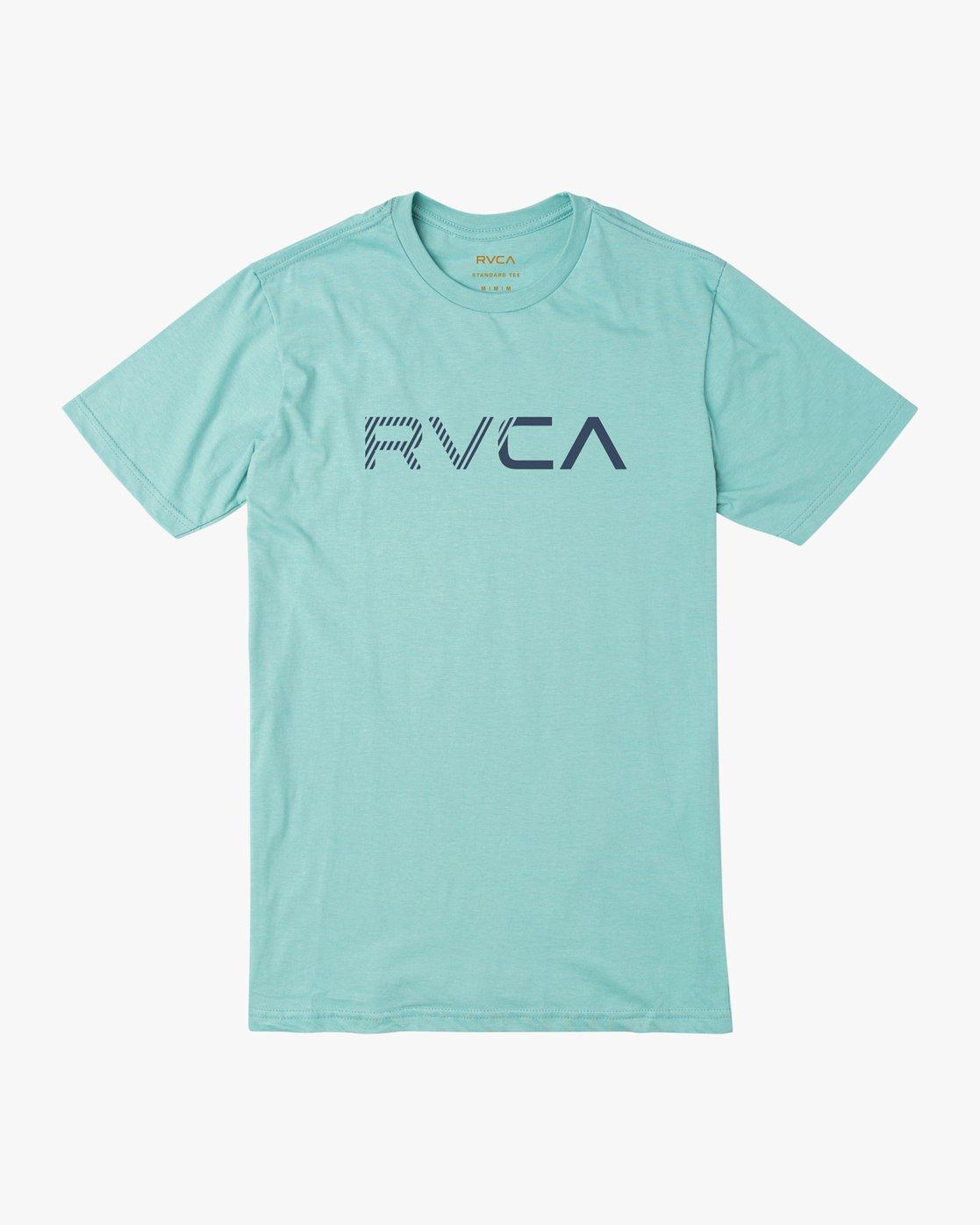 0 Boy's Blinded T-Shirt Blue B401TRBL RVCA
