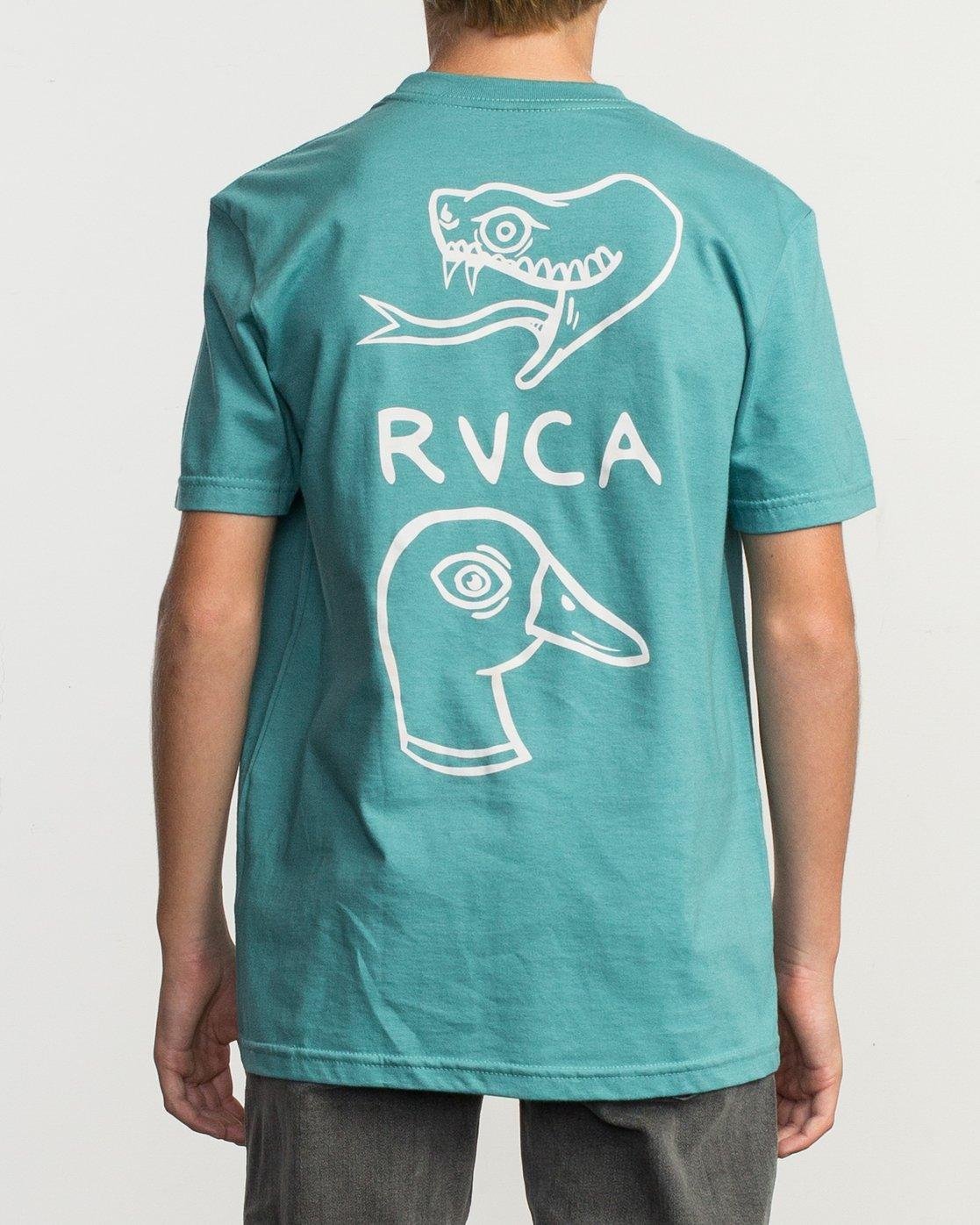 4 Boy's Pommier Eternal Struggle T-Shirt  B401TRET RVCA