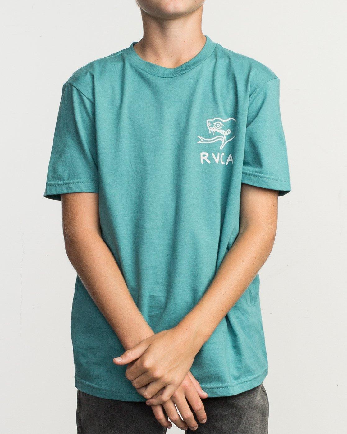 2 Boy's Pommier Eternal Struggle T-Shirt  B401TRET RVCA