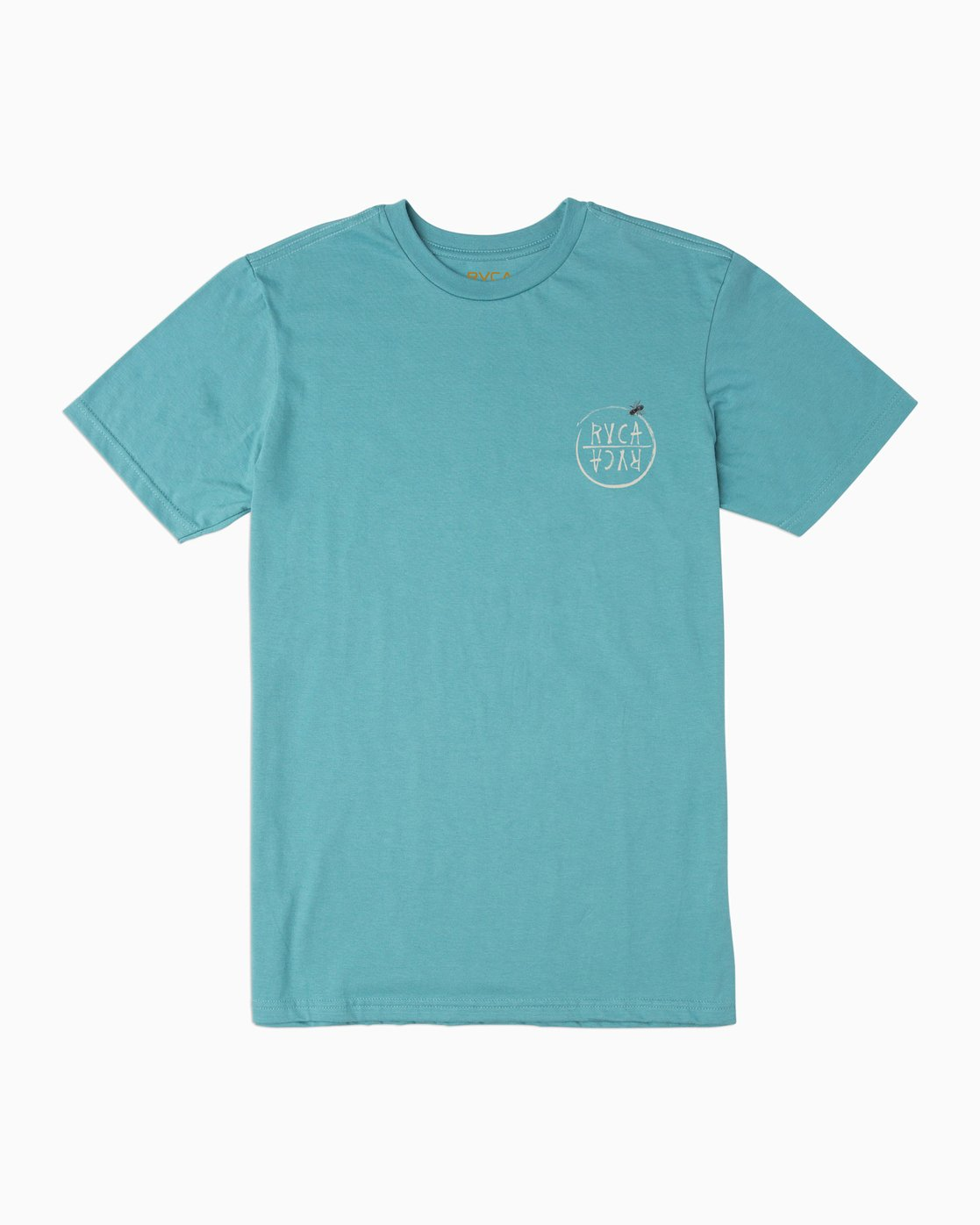 1 Boy's Horton Hivemind T-Shirt Blue B401TRHI RVCA