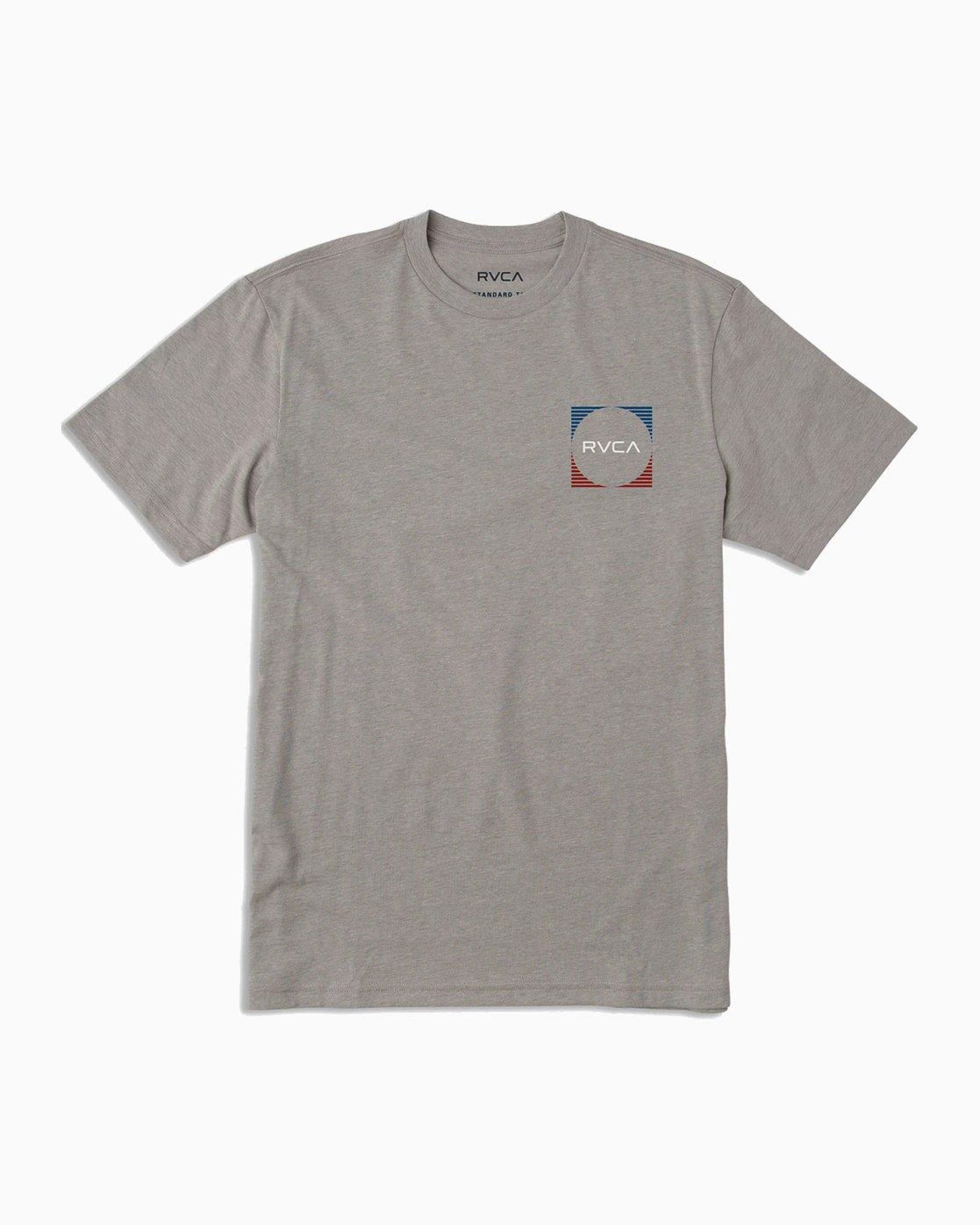 1 Boy's Motorstripe T-Shirt Grey B401TRMS RVCA
