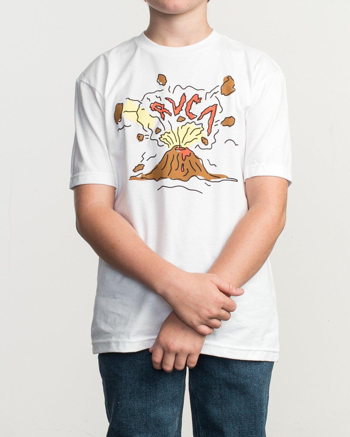 1 Boy's Ceddia Pompei T-Shirt  B401TRPO RVCA
