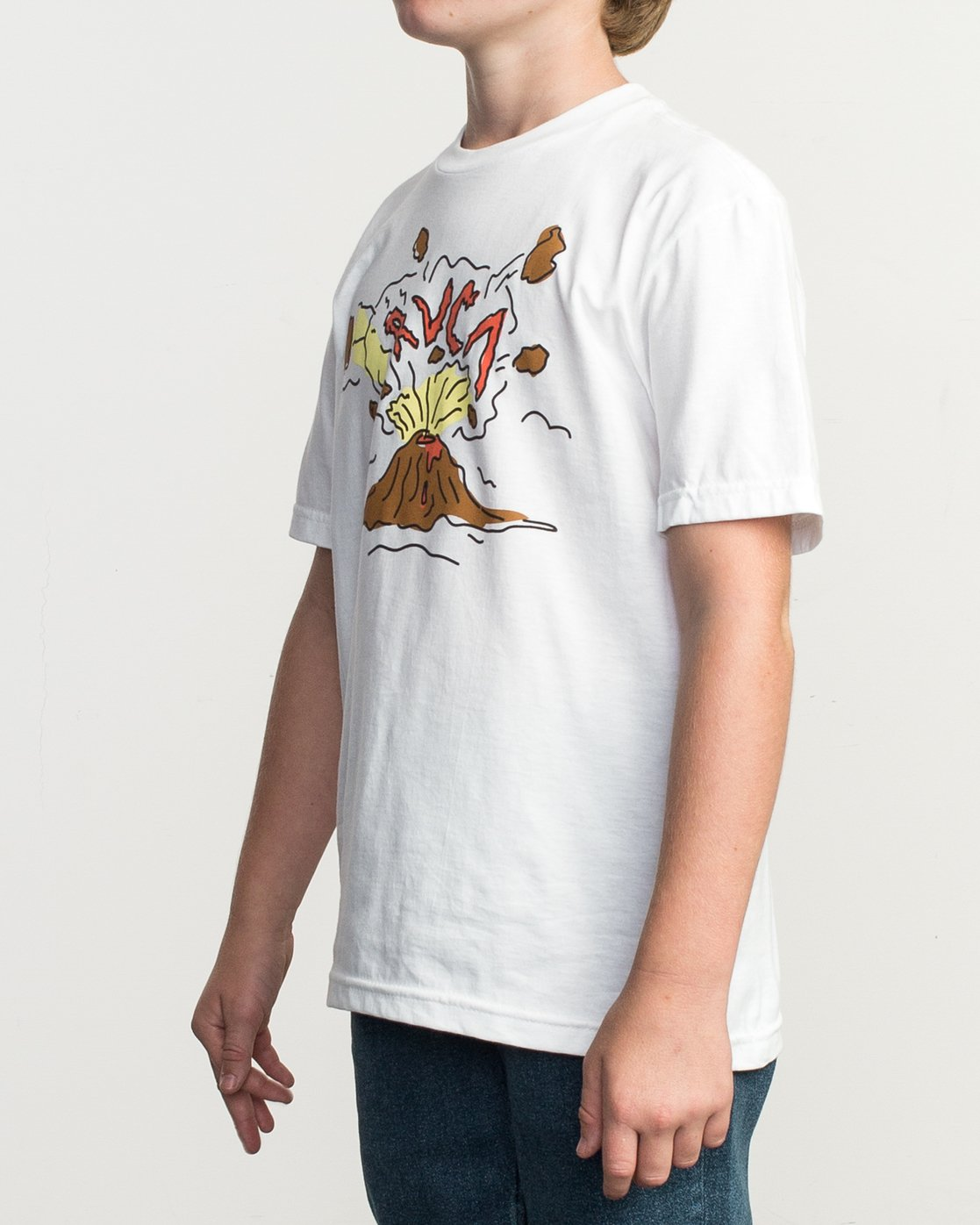 2 Boy's Ceddia Pompei T-Shirt  B401TRPO RVCA