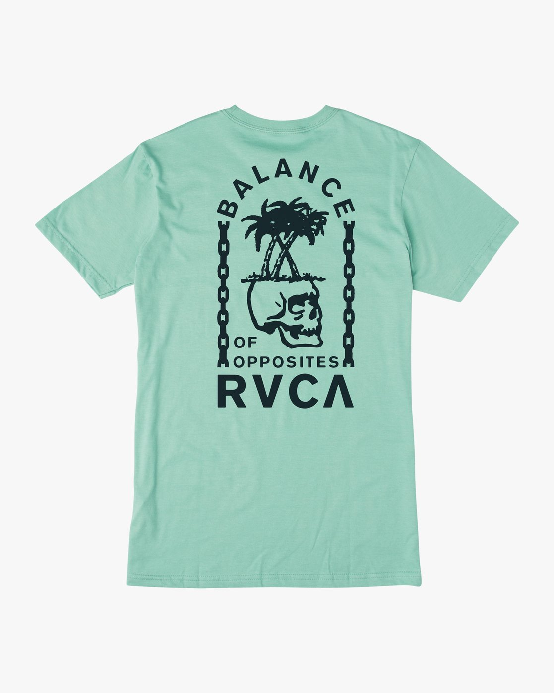 0 Boy's Bad Palms T-Shirt Blue B401URBA RVCA