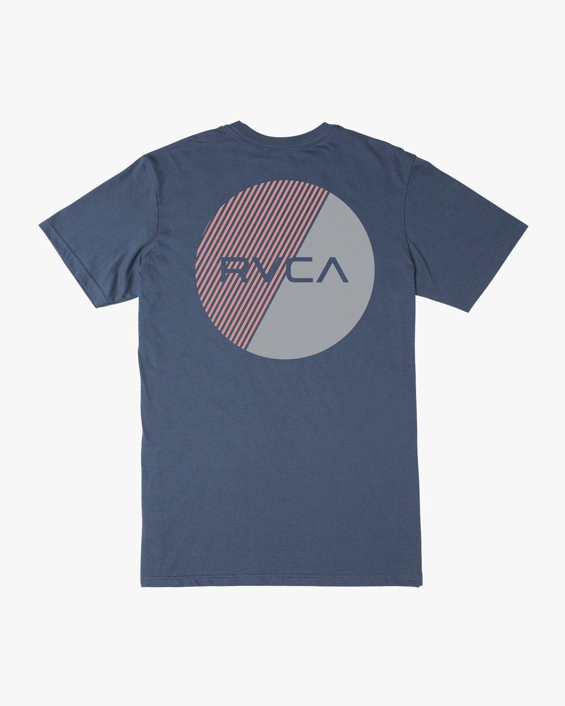 0 Boy's Blind Motors T-Shirt Blue B401URBM RVCA