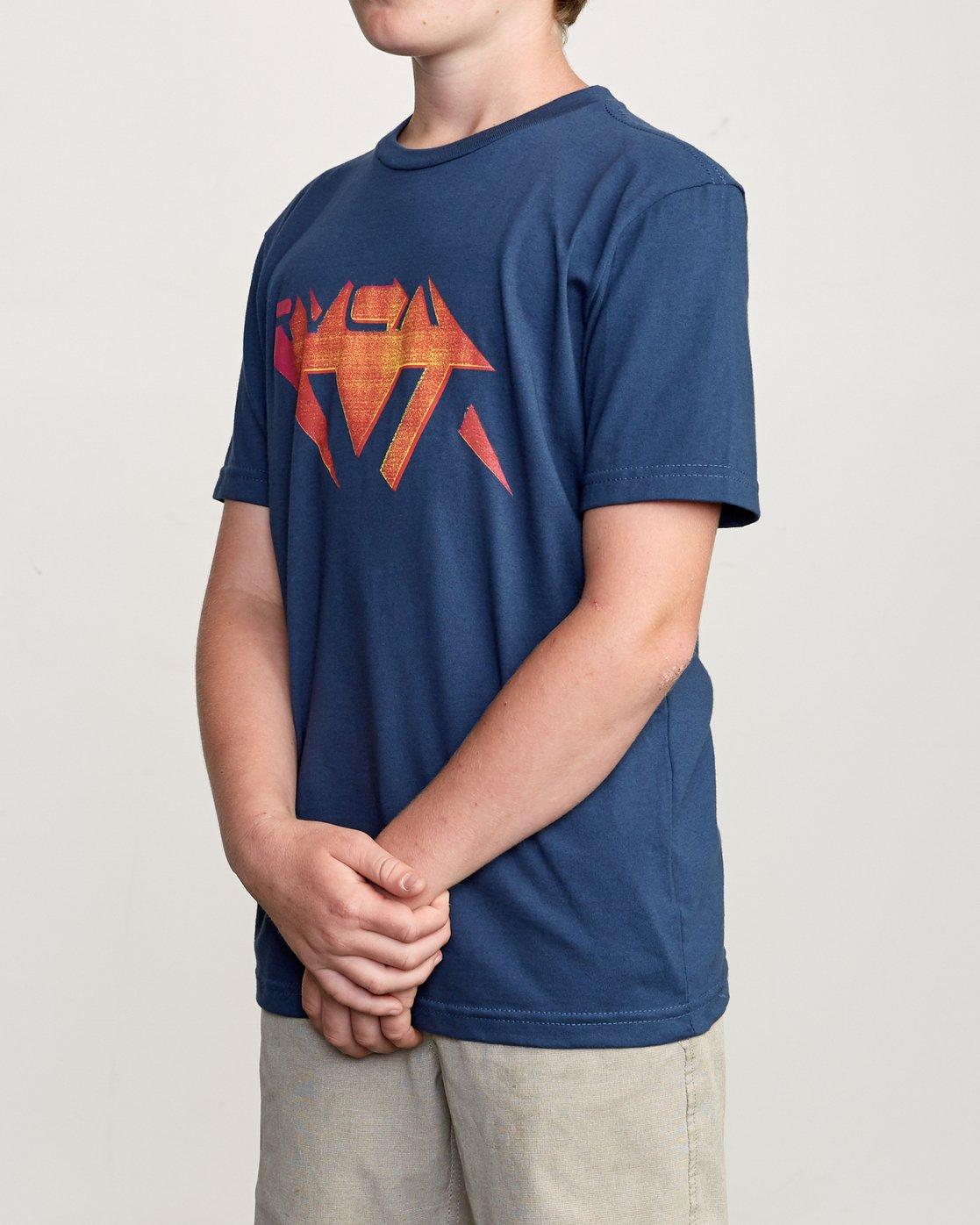 2 Boy's 3D VA T-Shirt  B401URDV RVCA