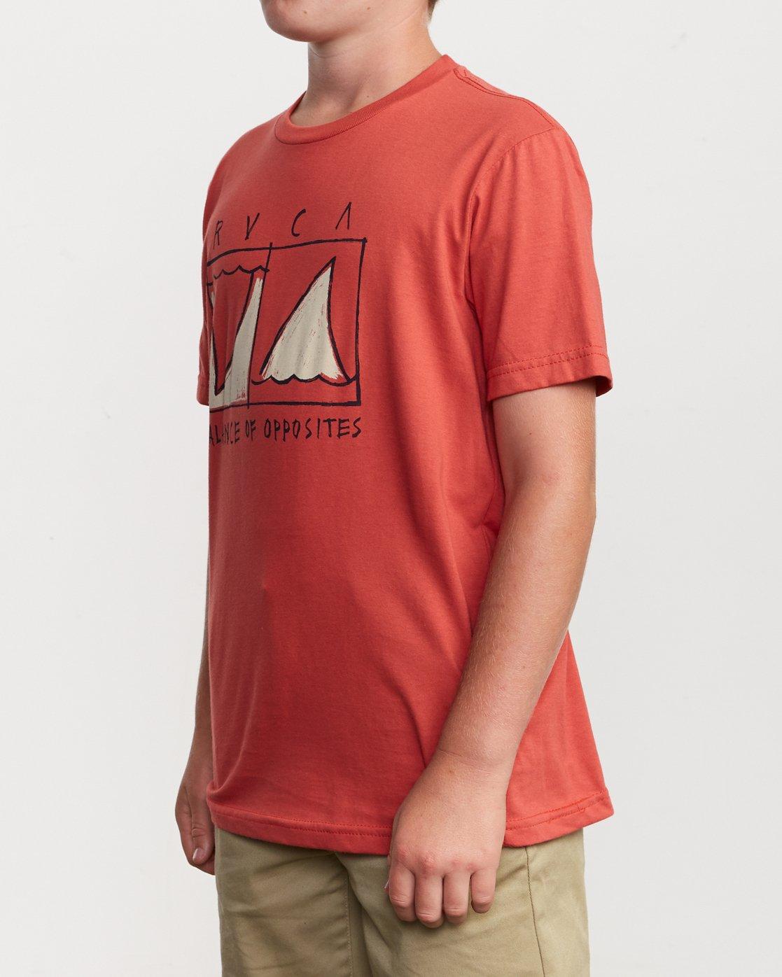 2 Boy's Horton Finner T-Shirt Green B401VRFI RVCA