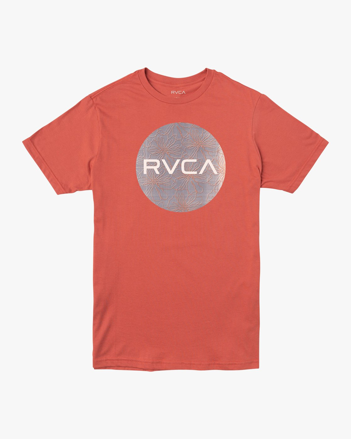 0 Boy's Motors Mix T-Shirt Green B401VRMM RVCA