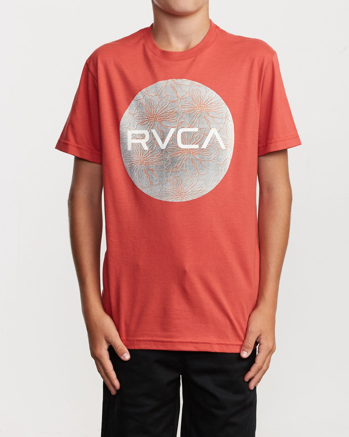 1 Boy's Motors Mix T-Shirt Green B401VRMM RVCA
