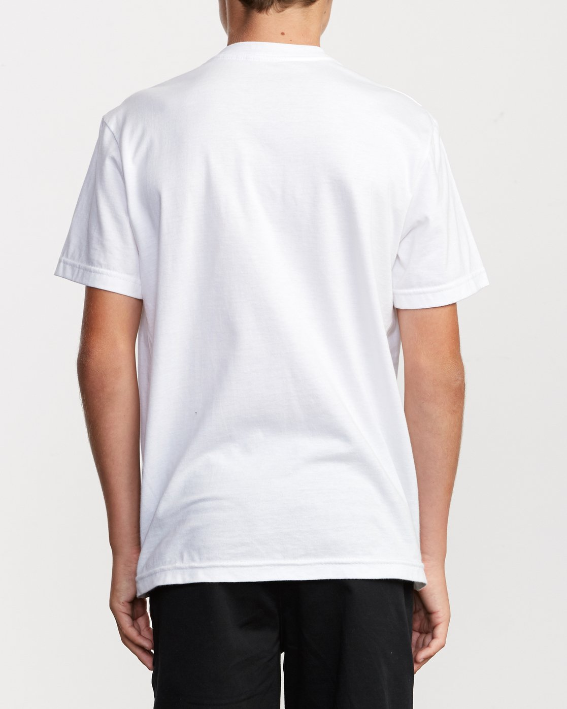 3 Boy's Motors Mix T-Shirt White B401VRMM RVCA