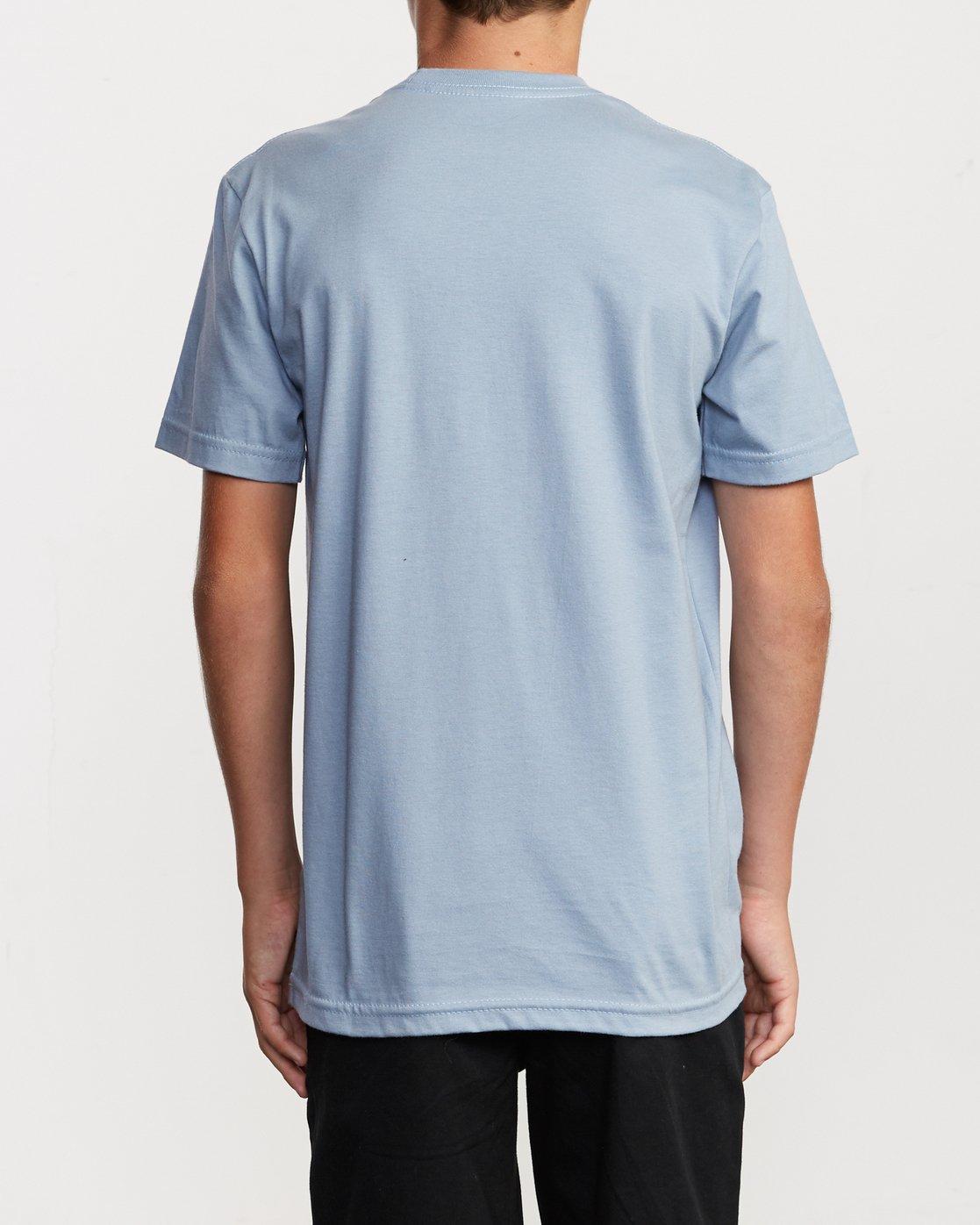 3 Boy's Random Box T-Shirt Blue B401VRRB RVCA