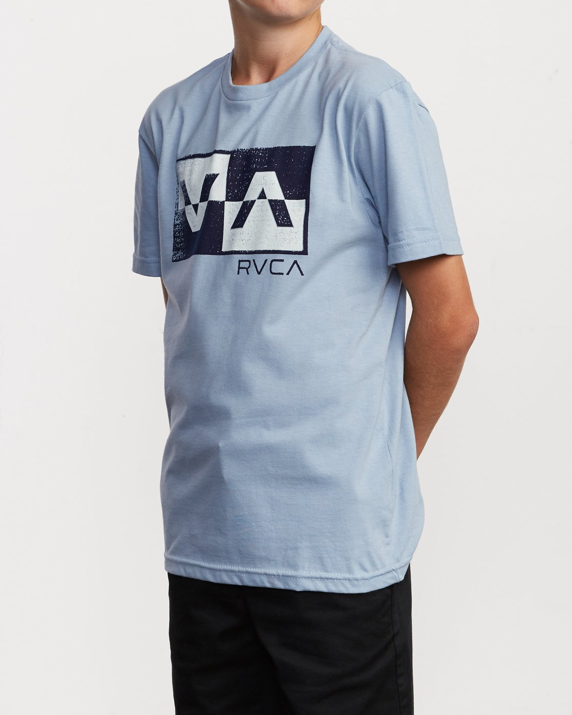 2 Boy's Random Box T-Shirt Blue B401VRRB RVCA