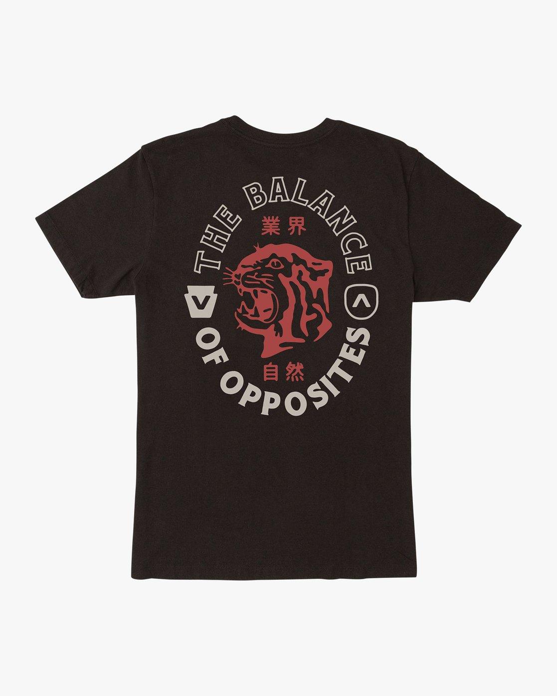 0 Boy's Siam T-Shirt Black B401VRSI RVCA