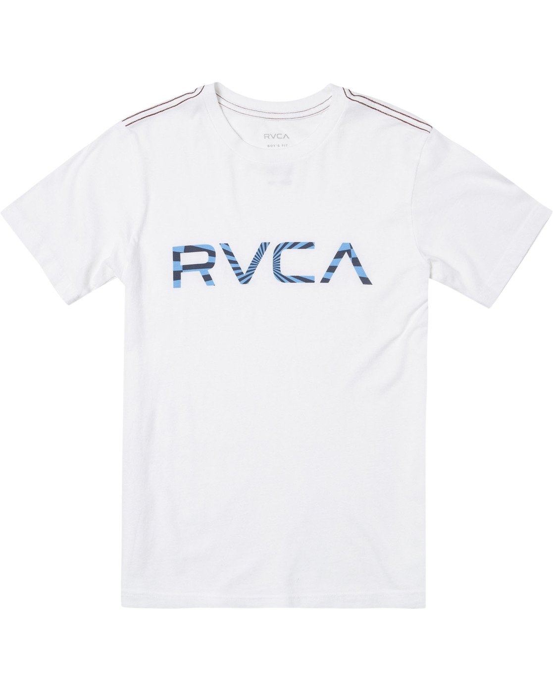 0 Boys BIG MAYDAY SHORT SLEEVE T-SHIRT White B4062RBM RVCA