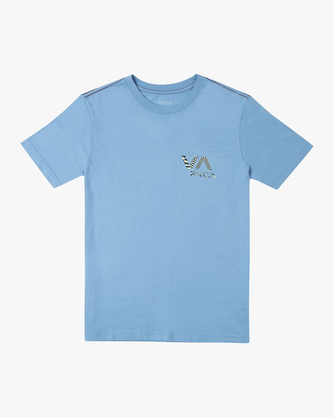 0 BOYS MAYDAY SHORT SLEEVE T-SHIRT Blue B4062RMA RVCA