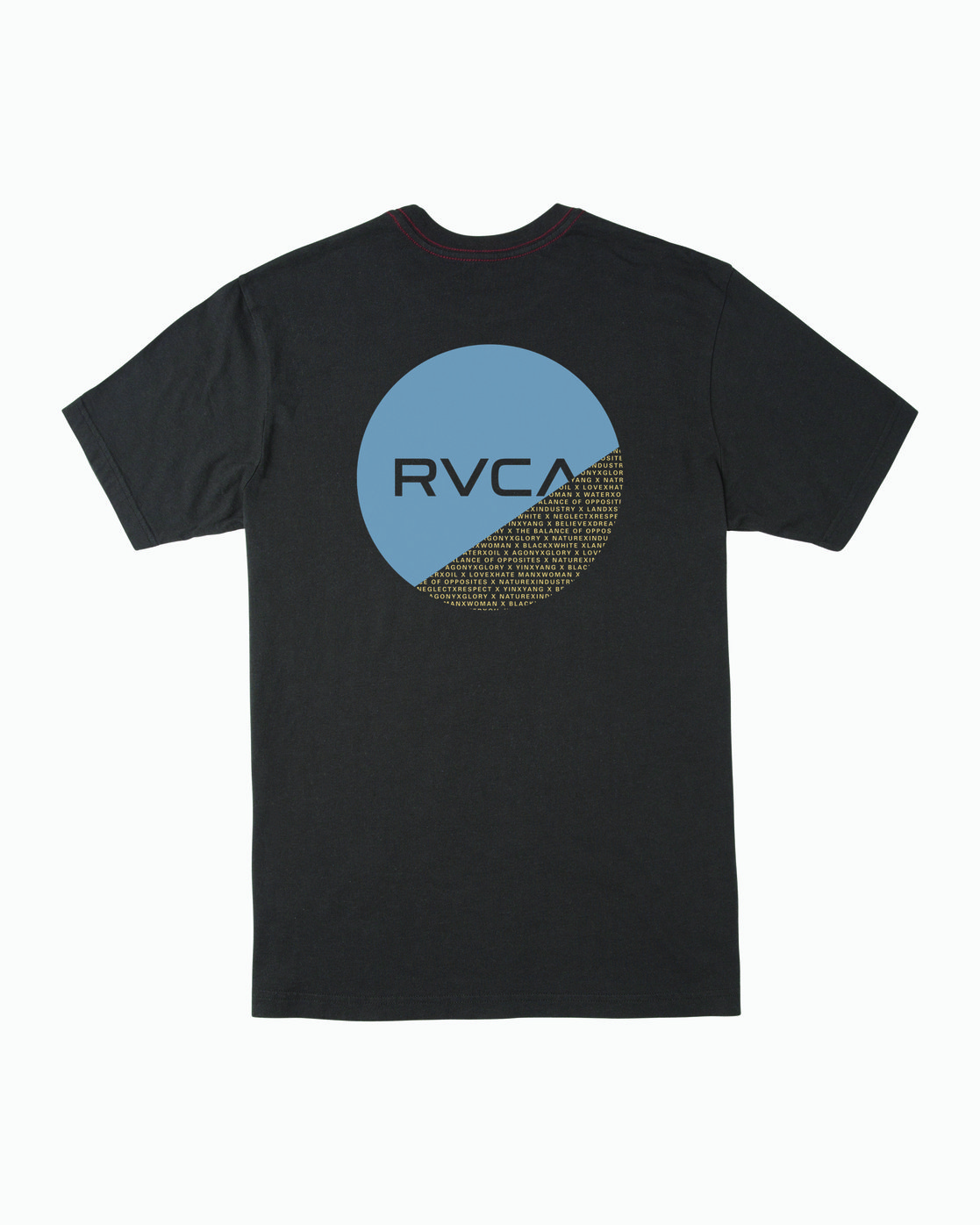 1 Boys FRACTION SHORT SLEEVE T-SHIRT Black B4063RFR RVCA