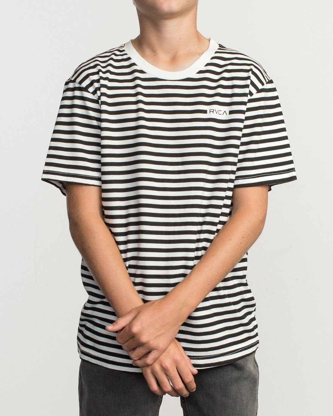 1 Boy's House Stripe T-Shirt  B406TRHO RVCA