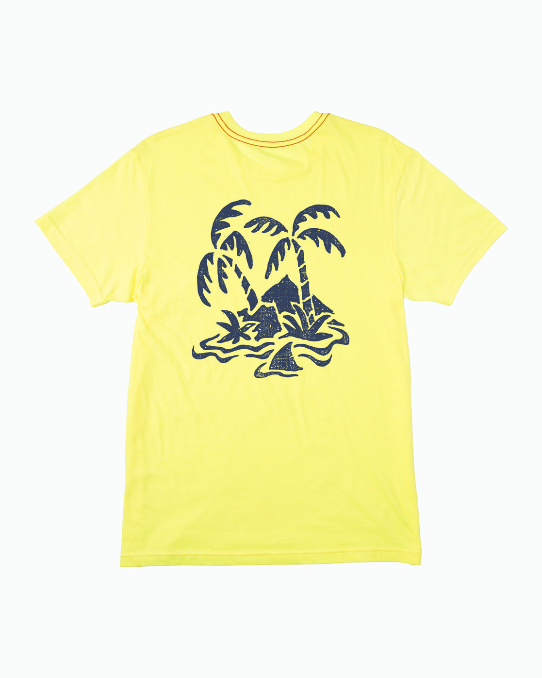 0 Boy's Castaway T-Shirt Yellow B406WRCA RVCA