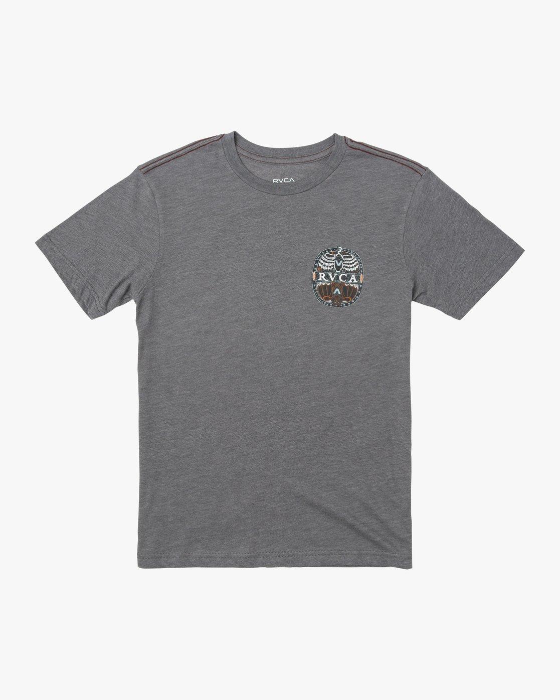 0 BOY'S OPPOSITES T-SHIRT Grey B4091ROP RVCA