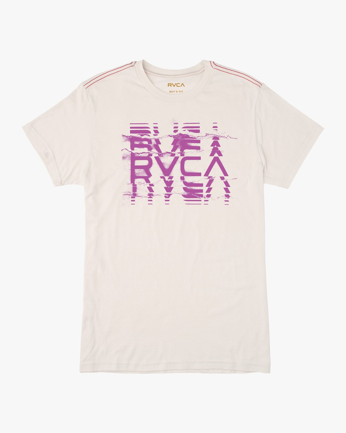 0 Boy's Big Torn T-Shirt  B409PRRV RVCA