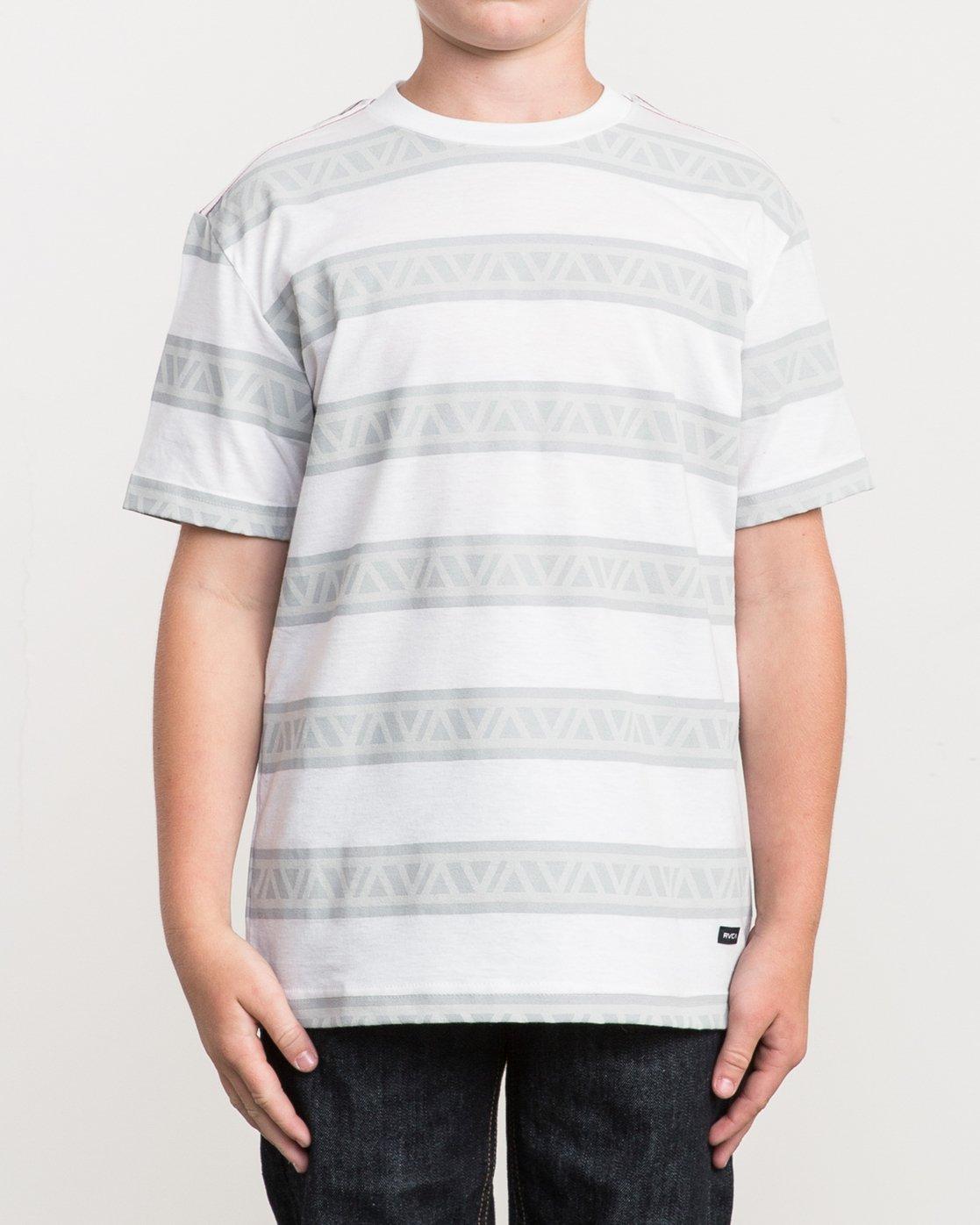 1 Boy's VA Repeater Striped T-Shirt  B409QRVA RVCA
