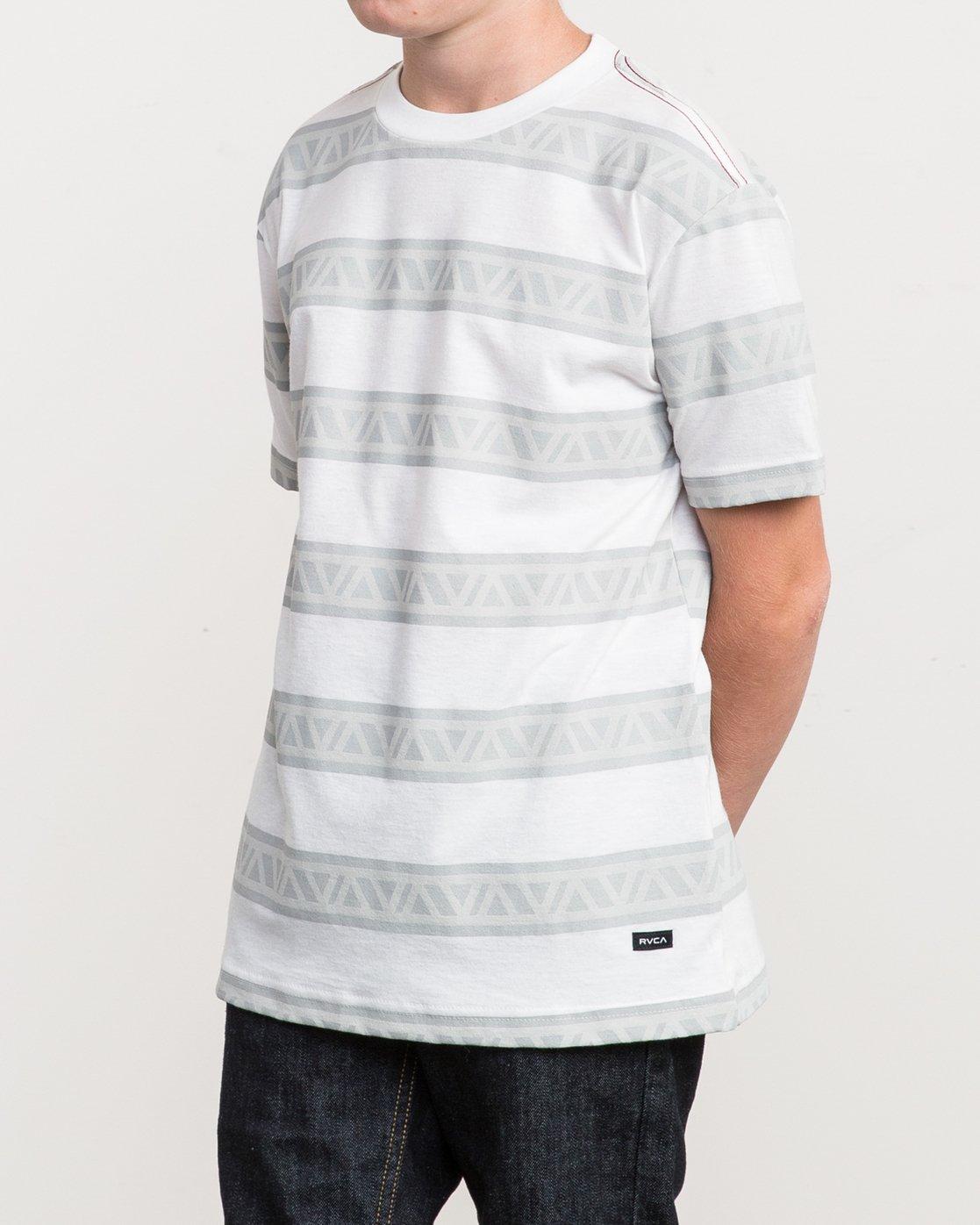 2 Boy's VA Repeater Striped T-Shirt  B409QRVA RVCA