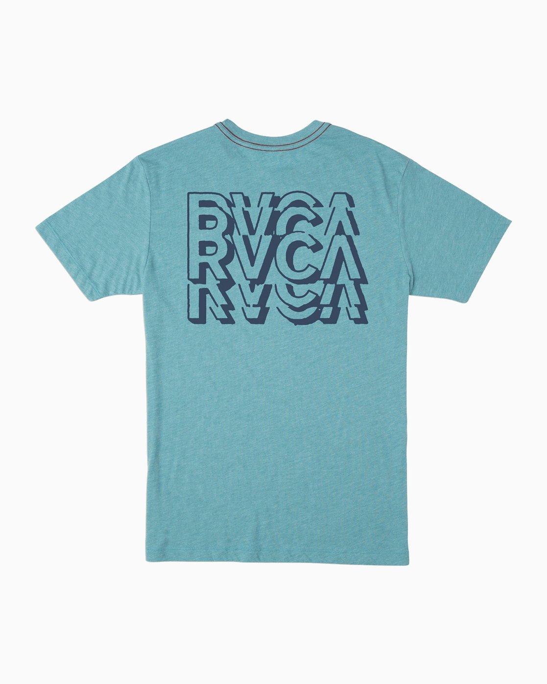 0 Boy's Ripper T-Shirt Blue B409TRRI RVCA