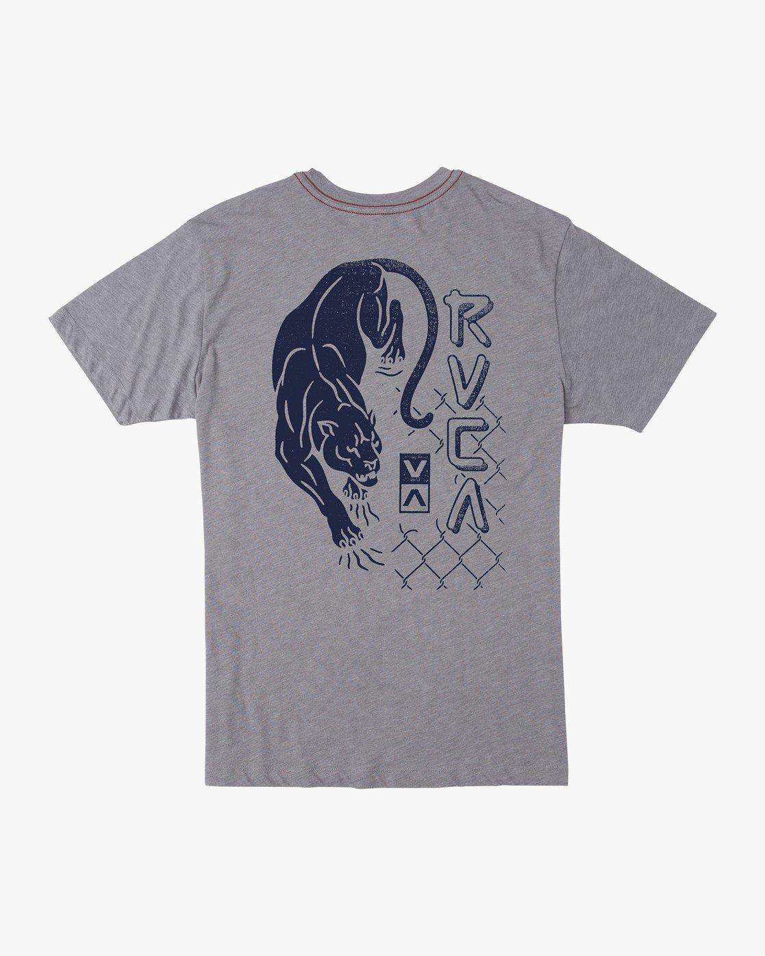 0 Boy's Prowler T-Shirt Grey B409VRPR RVCA
