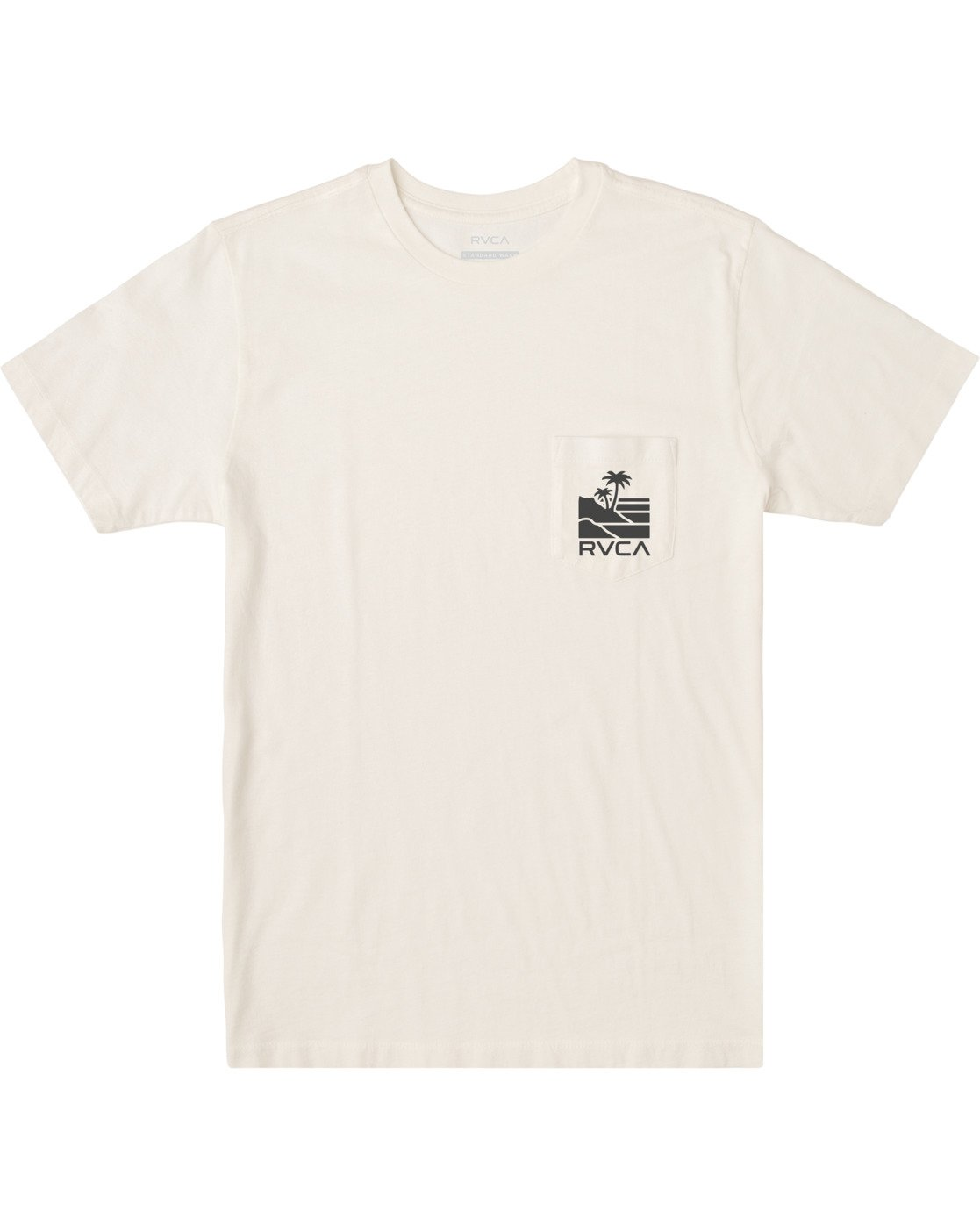 0 Boys VISTA SHORT SLEEVE T-SHIRT White B4122RVI RVCA