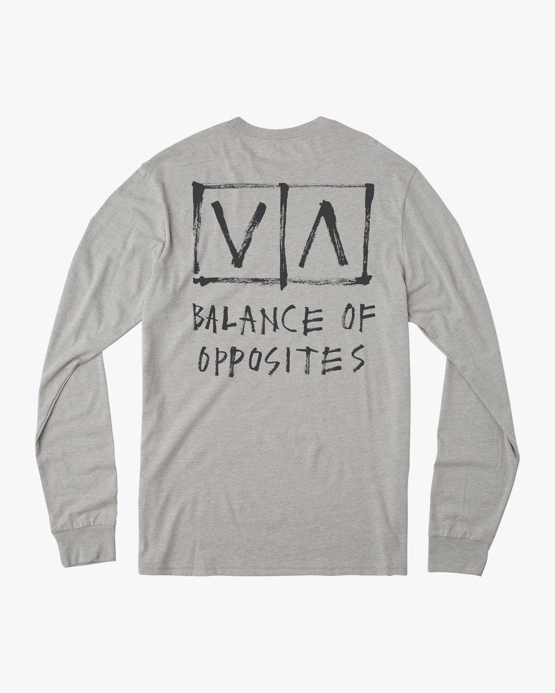 0 Boy's Horton Box Long Sleeve T-Shirt  B451URHO RVCA